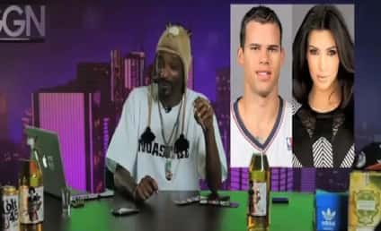 Snoop Dogg Offers Really NSFW Advice to Kris Humphries