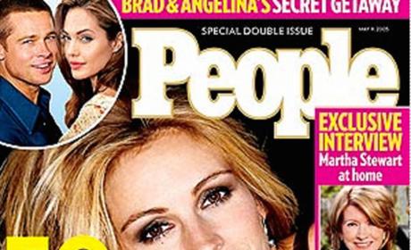 Julia Roberts Most Beautiful Cover