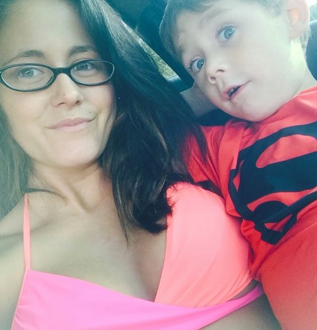 Jenelle Evans Gives Son Mohawk, Poses In Bikini, Laughs Off Haters - The Hollywood Gossip-3604