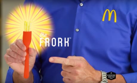 McDonald's Introduces the Frork; The World Will Never Be the Same