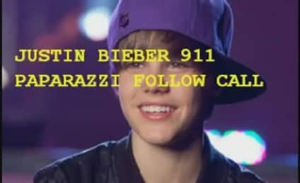 Justin Bieber 911 Call: Paparazzi on My Tail!