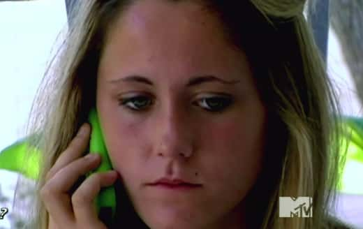 Jenelle Evans on the Phone