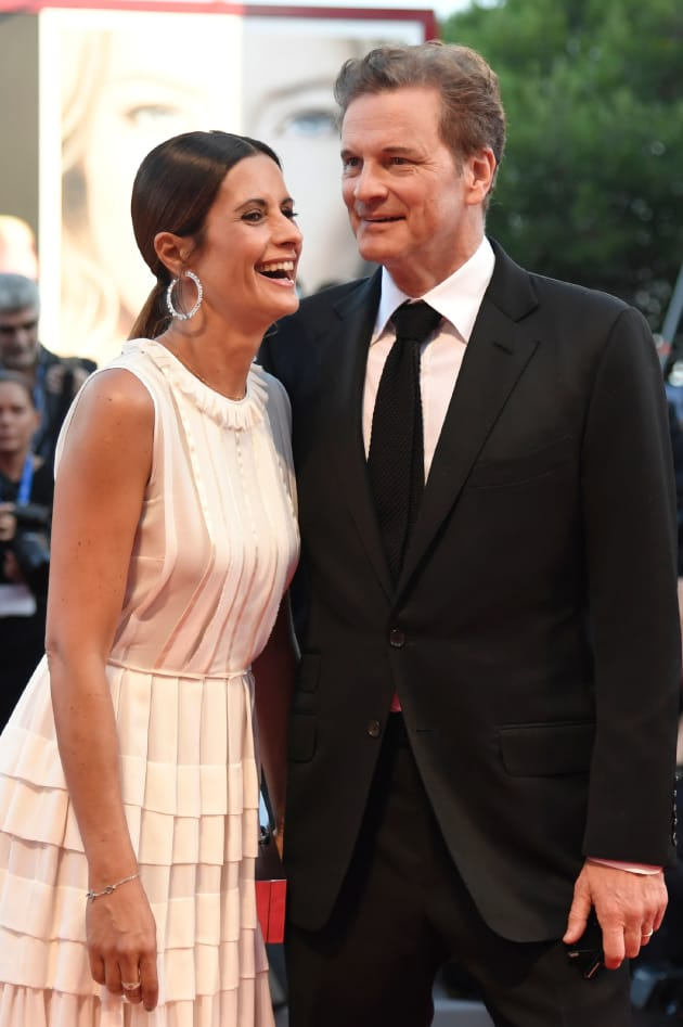 Colin Firth's Wife Adm...