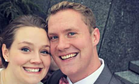Creepy Wedding Photo Bomb