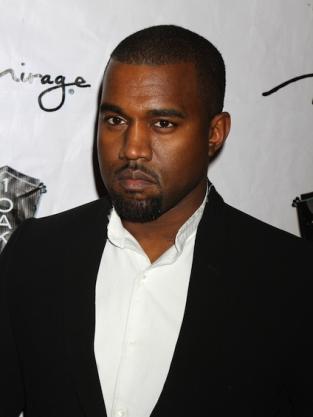 Kanye West Close Up