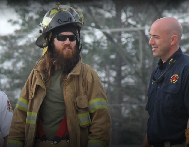Firefighter in Training