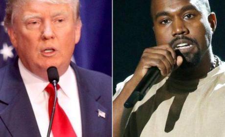 Donald Trump on Kanye West: I Hope to Run Against Him!