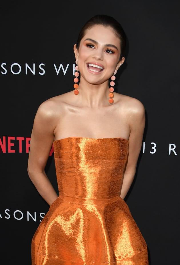 Selena Gomez at a Premiere