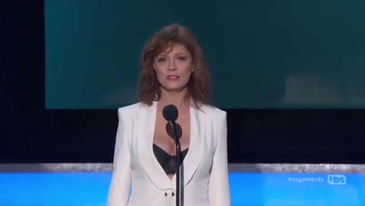 Susan Sarandon Cleavage!