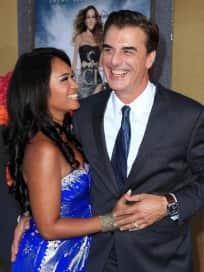Chris Noth and Tara Wilson Photo