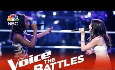 Briar Jonnee vs. Caitlin Caporale (The Voice Battle Round)