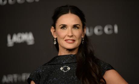Demi Moore: 2014 LACMA Art + Film Gala honoring Barbara Kruger and Quentin Tarantino