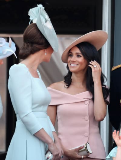 Meghan Markle and Kate Middleton Friendly