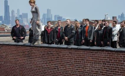 Divergent Photo: Shailene Woodley on a Ledge
