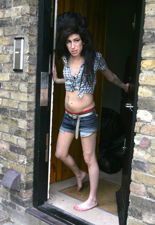 Amy Winehouse Steps Out