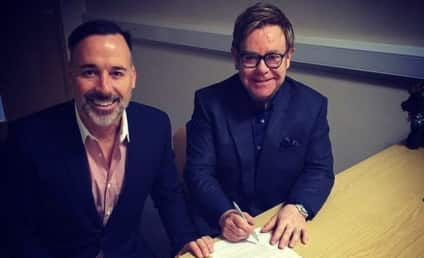 Elton John and David Furnish: Married!