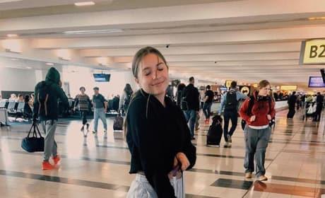 Mackenzie Ziegler at the Airport