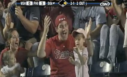 Little Girl Throws Back Foul Ball, Father Devastated