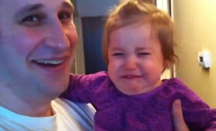 Father Shaves Off Beard, Young Daughter Reacts in Horror