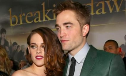 Robert Pattinson: Spotted Outside Kristen Stewart's Home?!?