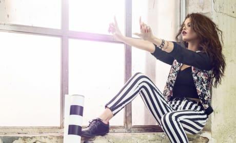 Selena Gomez adidas Neo Stripes