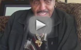 Joe Jackson Posts Bizarre Video Message to Blanket Jackson