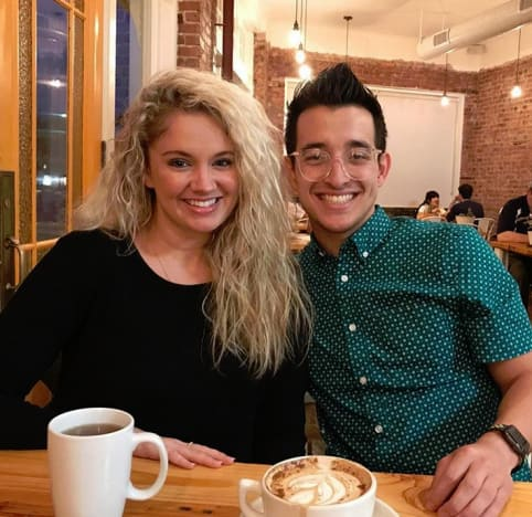 Tiffany Thornton and Her Fiance