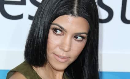 Kourtney Kardashian: WASTED at the AMAs?!