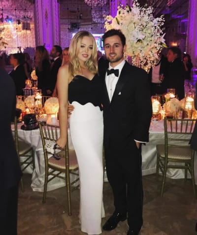 Tiffany Trump and Ross Mechanic
