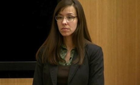 Jodi Arias Court Photo