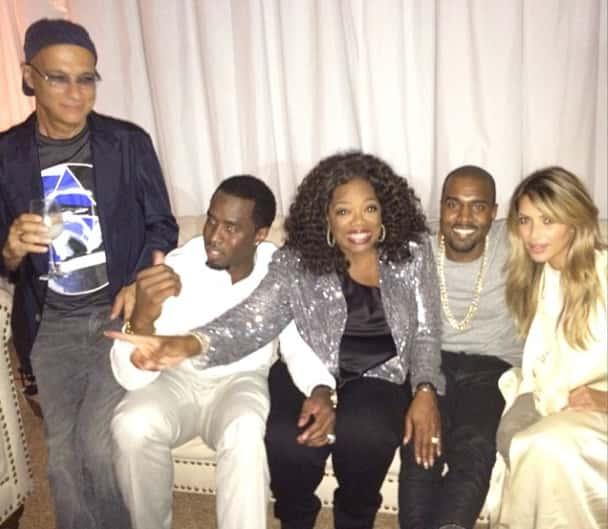 Kim Kardashian and Oprah!