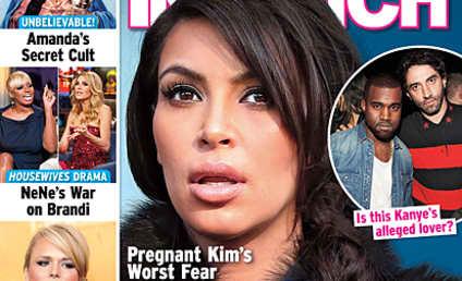 Kim Kardashian Worries: Is Kanye West Gay?!?