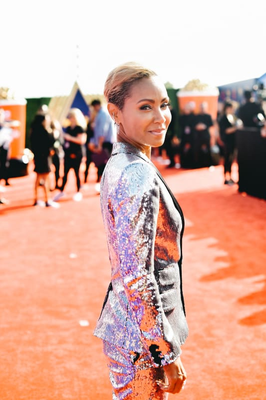 Jada pinkett smith at mtv movie and tv awards