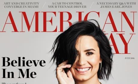 Demi Lovato on American Way