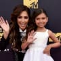 Farrah Abraham and Sophia on the Red Carpet