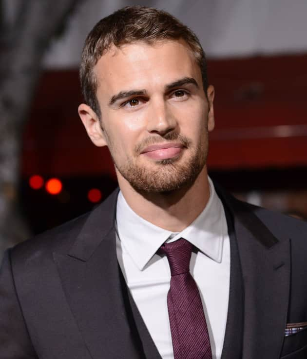 Theo James at Divergent Premiere