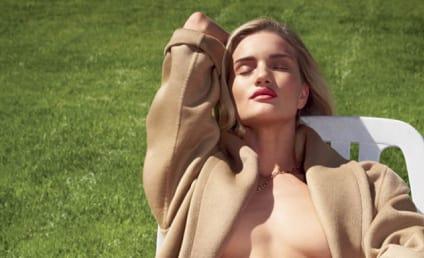 Rosie Huntington-Whiteley for V Magazine: We See Nipple!