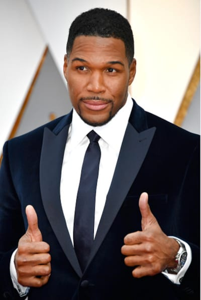 Michael Strahan, Thumbs Up
