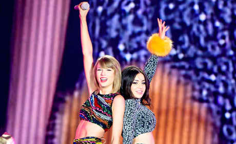 "Taylor Swift Duets with Charli XCX on ""Boom Clap"""