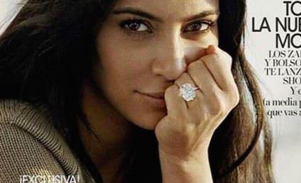 Kim Kardashian: No Makeup, All Butt Crack for Vogue Spain!