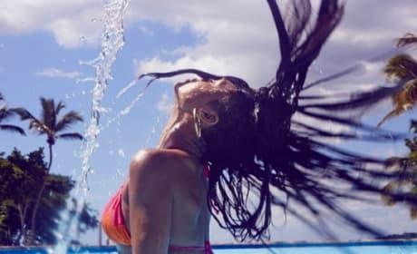Rihanna Bikini Shots