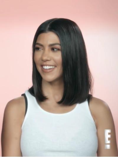 Kourtney Kardashian in a Confessional
