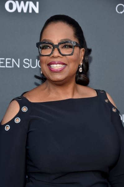 Oprah Winfrey with Big Glasses