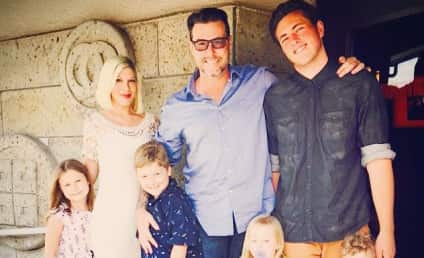 Tori Spelling: Hospitalized After Freak Accident