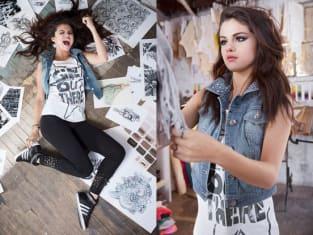 Selena Gomez Adidas Photos