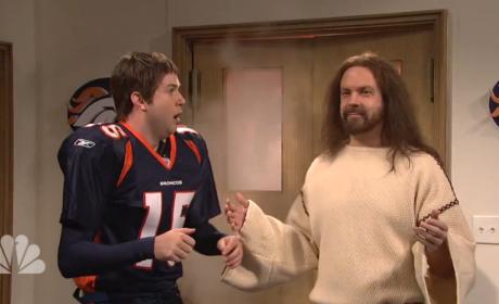 Tim Tebow Meets Jesus
