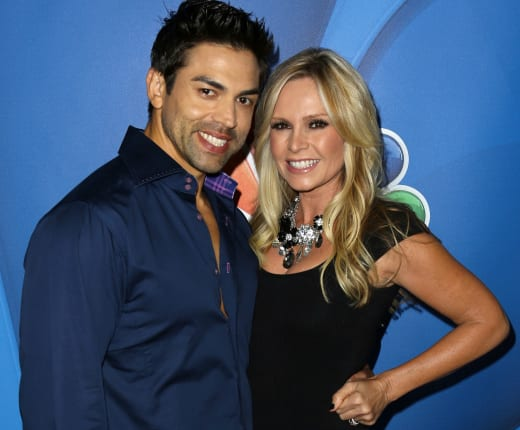Tamra and Eddie Judge
