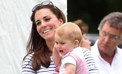 Kate Middleton, Prince George Cheer on Prince William in Father's Day Polo Match