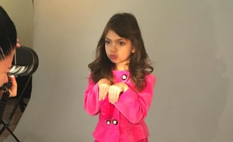 Sophai Abraham: Bunny Face at Photoshoot for Bound to the Crown