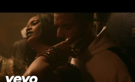 "Rihanna: ""Work"" Video Sparks Rumors of Drake Romance"